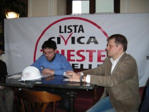 Trieste 5 Stelle Conferenza Stampa di fine anno 2010