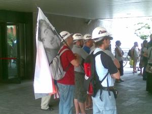 Manifestazione Ferriera ( giugno 2010 )