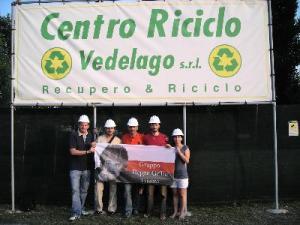 Visita al Centro Riciclo di Vedelago