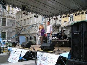 Palco Piazza Vittorio Veneto ( 08 maggio 2011 )